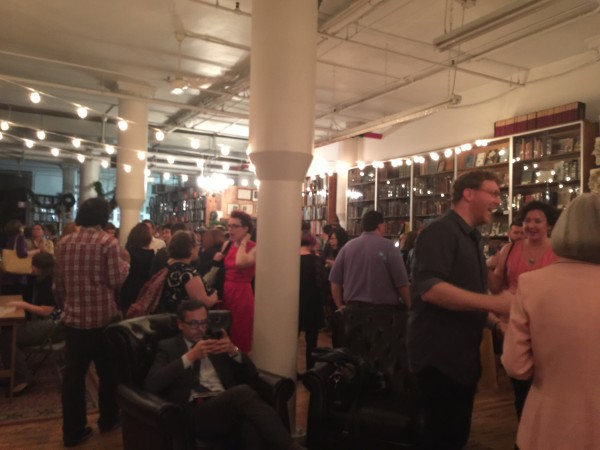 Book Mixer in The Strand's Rare Room